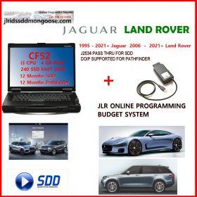 Non OEM JLR DoiP VCI SDD Pathfinder Interface Plus Panasonic CF53 Laptop For Jaguar Land Rover From 2005 To 2019+, image