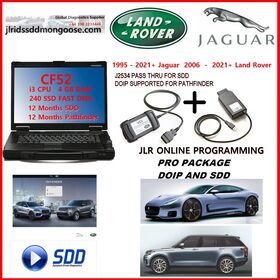 JLR UK MANUFACTURED APPROVED DOIP VCI & JLR APPROVED SDD VCI WITH PATHFINDER & SDD LICENCES WITH TOUGHBOOK CF52/53, FULL PACKAGE, image