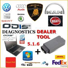 VAG Group Dealer Level Diagnostics Programming Laptop ODIS 6.2, image , 2 image