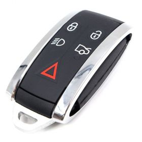 New Smart Remote Key Fob 434MHz 5 Button for JAGUAR XF XFR XK XKR 2009-2013, image