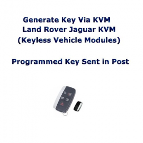Postal Service Generate Key Via KVM Land Rover Jaguar KVM (Keyless Vehicle Modules), image , 2 image