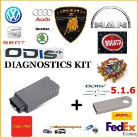 VAG Group Dealer Level Diagnostics Programming Laptop ODIS 6.2, image , 3 image
