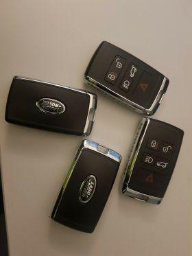 ORIGINAL Smart key for Land/Range Rover Buttons:4+1 / Frequency:434MHz / Transponder: HITAG PRO / Blade signature:HU101 / Immobiliser System:KVM / Part No: PEPS(SUV)JK52-15K601-DG / Keyless Go, image , 2 image