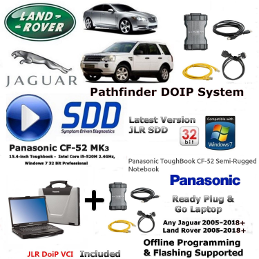 DOIP SDD PATHFINDER SYSTEMS WITH ONLINE KVM PROGRAMMING