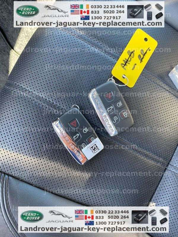 land rover jaguar spare lost key replacement usa