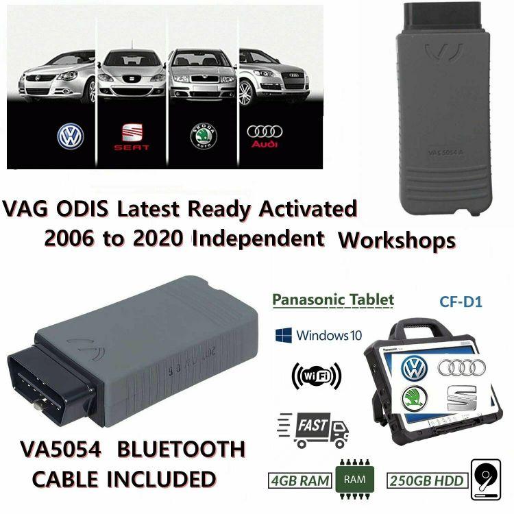 VAG Group Dealer Level Diagnostics Programming Laptop ODIS