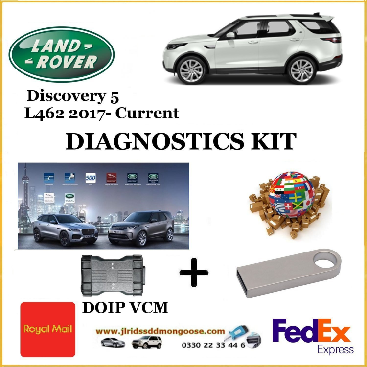 ​Land Rover Diagnostics :: Land Rover Discovery 5 L462 - JLR SDD Mongoose Vehicle Interface for Jaguar and Land Rover Mongoose is a low-cost, high-performance vehicle network interface that connects a laptop directly to the Bus Network via the OBD-II