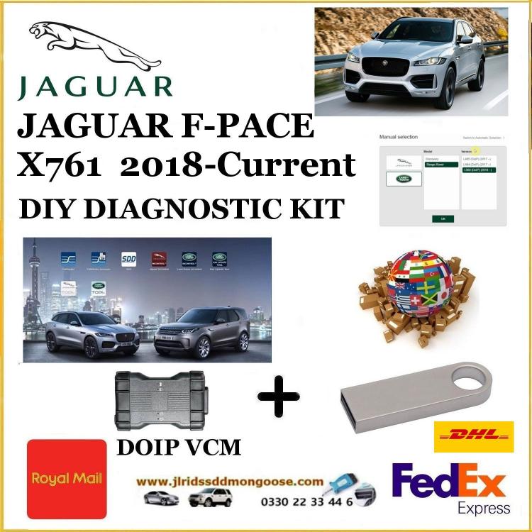Jaguar F-Pace X761 Diagnostics SDD Tool
