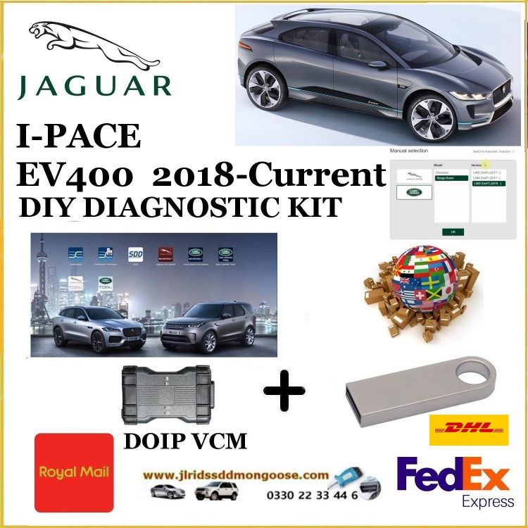 Jaguar Diagnostics/Jaguar I-Pace EV400 2018 - current Diagnostics Pathfinder DOIP Tool