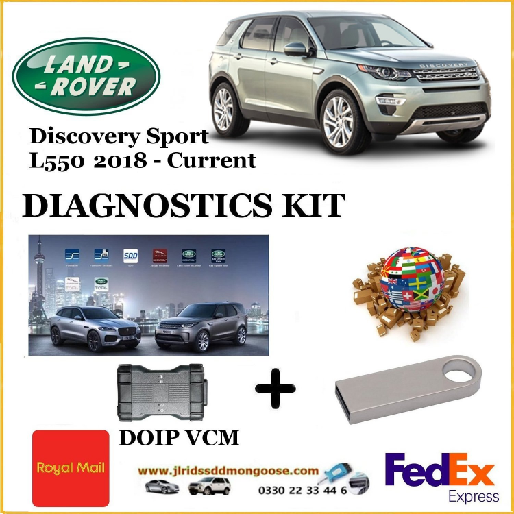 Discovery Sport L550 2018 - Current Land Rover Pathfinder DOIP DIY KIT
